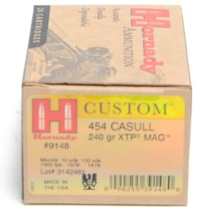 Hornady 454 Casull 240 Grain XTP MAG (eXtreme Terminal Performance) (20)