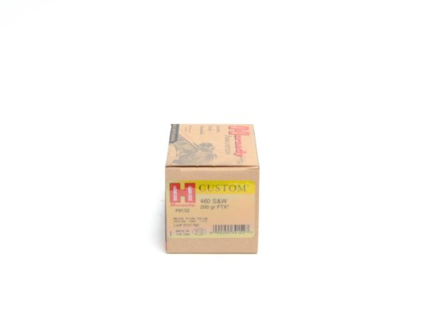 Hornady 460 S&W 200 Grain FTX (Flex Tip) (20)