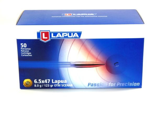 Lapua 6.5X47 Lapua 123 Grain Hollow Point Boat Tail (50)