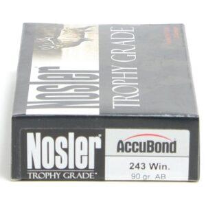 Nosler 243 Win 90 Grain Accubond (20)