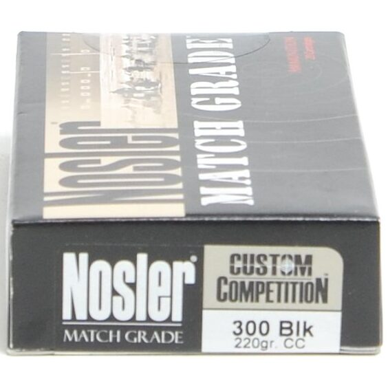 Nosler 300 AAC Blackout 220 Grain Custom Competition (20)