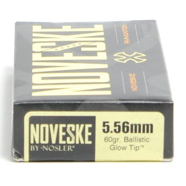 Nosler 5.56mm 60 Grain Ballistic Glow Tip (20)