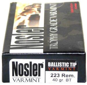 Nosler 223 Rem 40 Grain Boat Tail (20)
