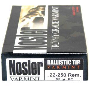 Nosler 22-250 Rem 55 Grain Boat Tail (20)