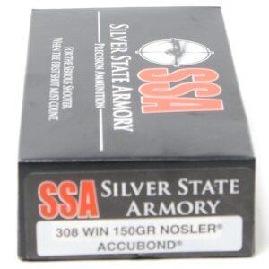 SSA 308 Win 150 Grain Nosler AccuBond (20)