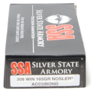 SSA 308 Win 165 Grain Nosler AccuBond (20)