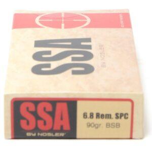 SSA 6.8mm 90 Grain SPC Nosler Protected Point Bonded (20)