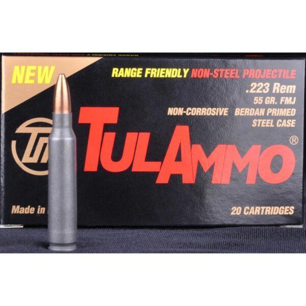 Tula Ammo 223 55 Grain FMJ BJB Steel Case (20)