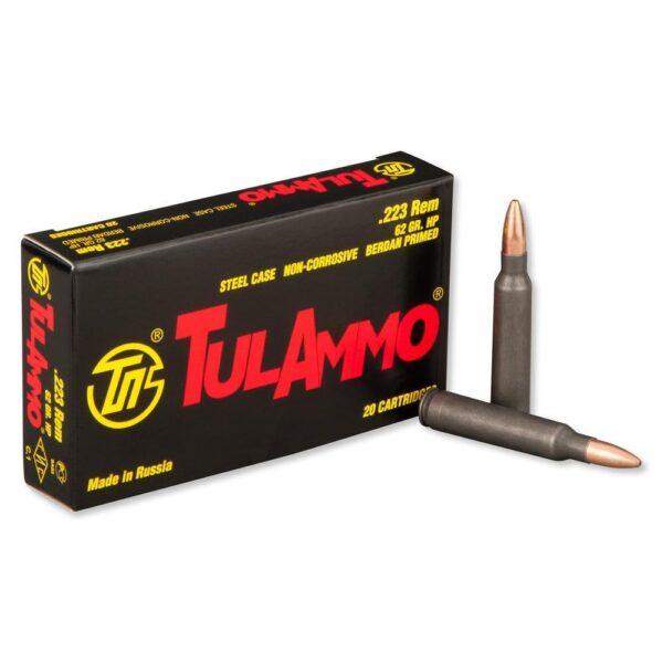 Tula Ammo 223 62 Gr HP Steel Case (20)