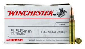 Winchester 5.56 55 Gr FMJ (20)