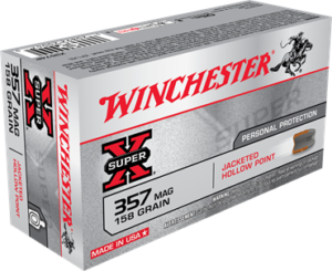 Winchester 357 MAG 158 Gr JHP Super X (50)