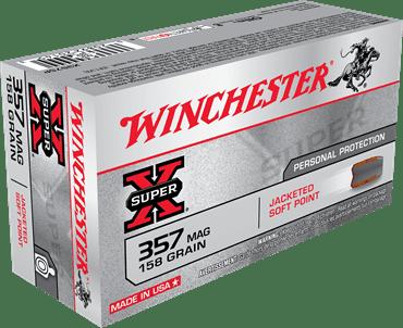 Winchester 357 MAG 158 Gr JSP Super X (50)