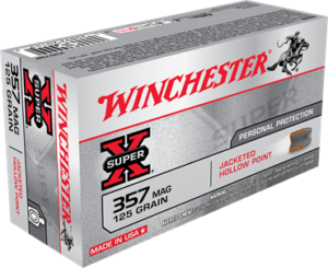 Winchester 357 MAG 125 Gr JHP Super X (50)