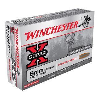 Winchester 8mm Mauser 170 GR X8MM Super-X Power-Point (20)