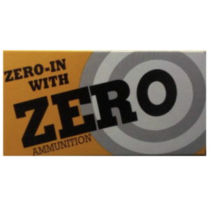 Zero Reload 9mm 125 Grain Round Nosel (50)