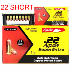 Aguila 22 Super Short 29 Gr Copper Coated HV SP (50)