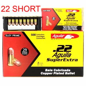 Aguila 22 Super Short 29 Gr Copper Coated HV SP (50)