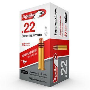 Aguila 22 LR 30 Gr Super Maximum CC 1700 FPS Hyper Velocity LRN (50)