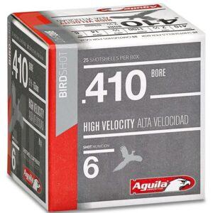 "Aguila 410 Gauge HV 00 Buckshot 2.5"" (25)"