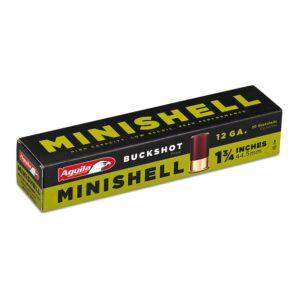 Aguila 12 Gauge MINISHELL 1 3/4 Inch Buckshot (20)
