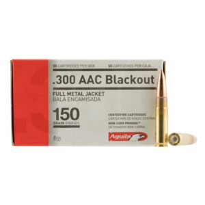 Aguila 300 Blackout 150 Gr FMJ (50)