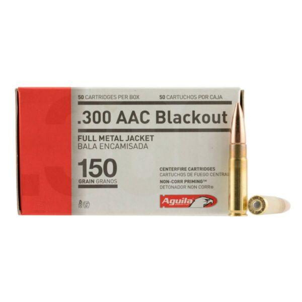 Aguila 300 Blackout 150 Gr FMJ (50)