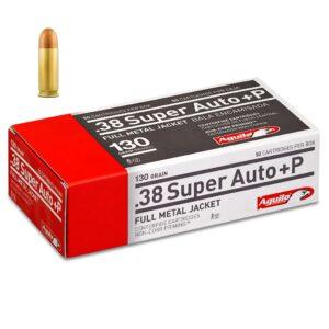 Aguila 38 Super Auto +P 130 Gr FMJ (50)