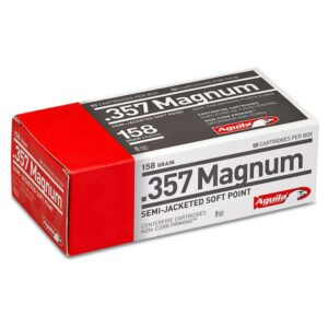 Aguila 357 Mag 158 Gr Semi-Jacketed SP (50)
