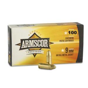Armscor USA 9mm 115 GR FMJ VALUE PACK (100)