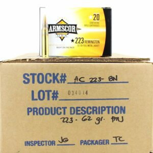 Armscor USA 223 Rem 62 Gr FMJ (20)