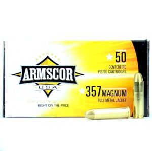 Armscor USA 357 Mag 125 Gr FMJ (50)