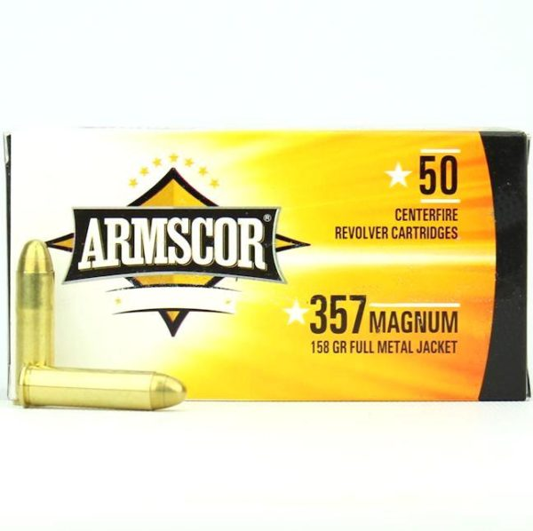 Armscor USA 357 Mag 158 Gr FMJ (50)