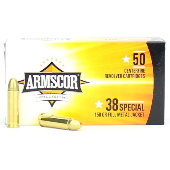 Armscor 38 Special 158 Gr FMJ (50)