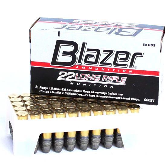 CCI Blazer 22 LR 40 Gr LRN HV 1235 FPS (50)