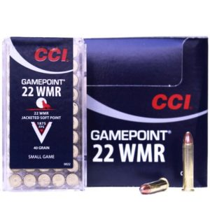 CCI 22 WMR Gamepoint 40 Gr SP (50)