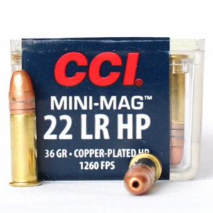 CCI 22 LR 36 Gr CC HP Mini Mag (100)