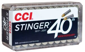 CCI 22 LR 32 Gr Copper Plated HP Stinger (50)