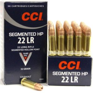 CCI 22 LR 32 Gr Copper Coated Segmented HP 1640 FPS (50)