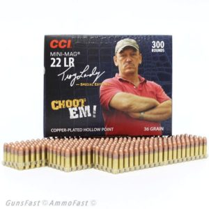 CCI 22 LR 36 Gr Troy Landry Choot Em CC HP Mini Mag (300)