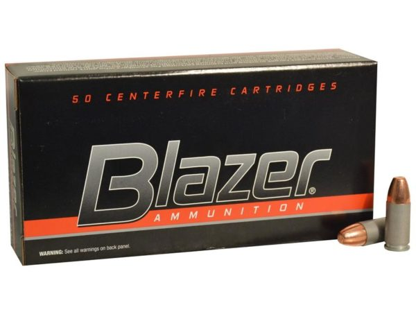 CCI Blazer 9MM 115 Gr FMJ Aluminum Case (50)