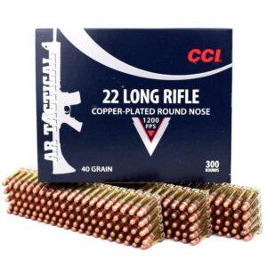 CCI 22 LR 40 Gr HV CC RN AR TACTICAL (300)