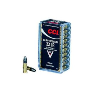CCI 22 LR 45 Gr SubSonic HP Suppressor (50)