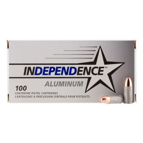 Independence 9mm Luger 115 Gr FMJ (100)