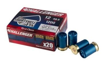 Challenger 12 Gauge Super Shortshell 1 3/4 Inch 7.5 Shot (20)