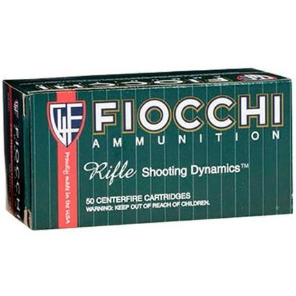 Fiocchi 223 Rem 55 Gr FMJ Boat Tail (50)