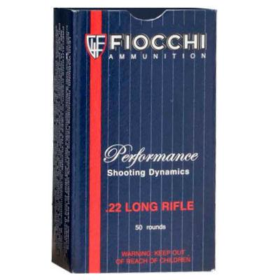 Fiocchi 22 LR 40 Gr Subsonic Lead HP (50)