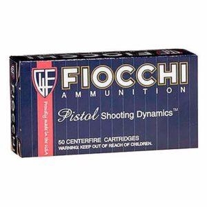Fiocchi 9MM 115 Grain FMJ (50)