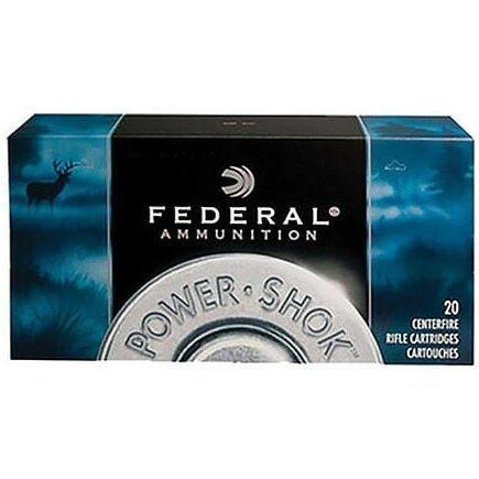 Federal 223 Rem 64 Gr Power-Shok JSP (20)