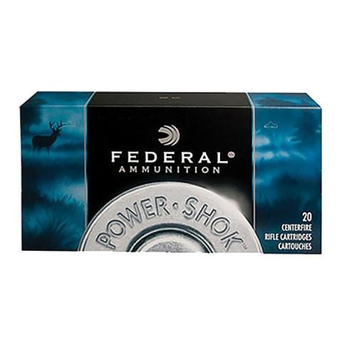 Federal 223 Rem 64 Gr Power-Shok JSP (20)