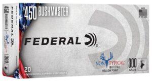Federal 450 Bushmaster 300 Gr Non-Typical SP (20)